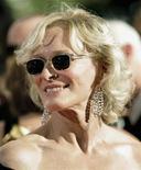 <p>A atriz Glenn Close chega à cerimônia do Emmy em 2009. Close juntou-se a um punhado de celebridades que já tiveram seu genoma sequenciado, em nome da ciência. 20/09/2009 REUTERS/Danny Moloshok</p>