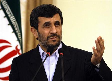 Iranian President Mahmoud Ahmadinejad speaks during a news conference in Kabul March 10, 2010. REUTERS/ Omar Sobhani