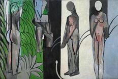 """<p>""""Banhistas na margem de um Rio"""", de Matisse, é uma das obras expostas em museu nos EUA. REUTERS/The Art Institute of Chicago/Handout</p>"""