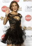 <p>Atriz Sarah Jessica Parker chega à cerimônia de premiação ShoWest em Las Vegas. 18/03/2010. REUTERS/Steve Marcus</p>