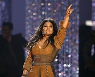 <p>Janet Jackson sings a medley of her hits at the 2009 American Music Awards in Los Angeles, California November 22, 2009. REUTERS/Mario Anzuoni</p>