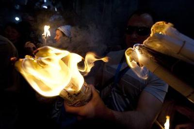 Holy Fire brings Jerusalem Easter to joyful climax