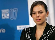 "<p>Cast member Hayley Atwell attends a news conference for the movie ""Cassandra's Dream"" during the 32nd Toronto International Film Festival September 12, 2007. The festival runs until September 15. REUTERS/Mario Anzuoni</p>"