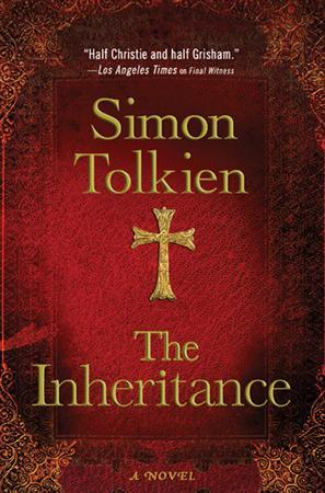 The cover of author Simon Tolkien's second novel, ''The Inheritance,'' published this week by Minotaur Books. REUTERS/Macmillan/Handout