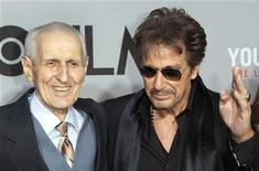 "<p>Assisted suicide advocate Jack Kevorkian poses with actor Al Pacino (R), who plays Kevorkian in the TV film ""You Don't Know Jack"", during the film's premiere in New York April 14, 2010. REUTERS/Lucas Jackson</p>"