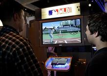 <p>Il gioco per Playstation Major League Baseball REUTERS/Robert Galbraith</p>