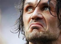 <p>Paolo Maldini in foto d'archivio. REUTERS/Alessandro Garofalo</p>