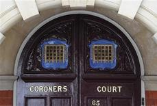 <p>Westminster Coroner's Court is seen in central London April 28, 2010. An inquest at the court concluded that fashion designer Alexander McQueen hanged himself following huge pressure from work and having just lost his mother. REUTERS/Toby Melville</p>