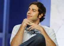 "<p>Actor Zachary Levi from the NBC series ""Chuck"" takes part in a panel discussion at the NBC Universal summer press tour in Beverly Hills, California July 21, 2008. REUTERS/Fred Prouser</p>"