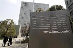 """<p>Imagen de archivo de la sede de IBM Japón en Tokio. Mar 18 2010. IBM dijo el lunes que comprará al fabricante de programas Cast Iron Systems, para ampliar su experiencia en computación """"en nube"""", una tecnología cada vez más popular que ayuda a las firmas a recortar costos mediante el uso compartido de software a través de internet. REUTERS/Toru Hanai/ARCHIVO</p>"""