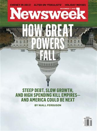The December 7, 2009 cover of Newsweek. REUTERS/PRNewsFoto