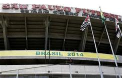 <p>Estádio do Morumbi foi o primeiro a receber inspetores do comitê local da Copa do Mundo de 2014. REUTERS/Rickey Rogers</p>