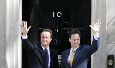 Britain unveils cabinet