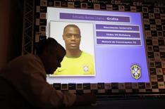 <p>Grafite foi um dos convocados pelo técnico Dunga para a seleção que disputará a Copa do Mundo, lista que para o presidente Lula, forma um time vencedor. REUTERS/Sergio Moraes</p>