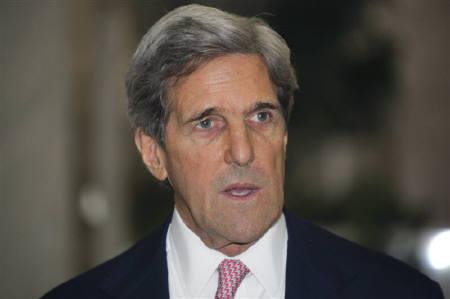 U.S. Sen. John Kerry is seen in Damascus in this April 1, 2010 file photo. REUTERS/Stringer/Files