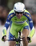 <p>Vincenzo Nibali durante il Giro d'Italia. REUTERS/Robert Pratta</p>