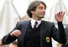 <p>Leonardo, allenatore del Milan, in foto d'archivio. REUTERS/Paolo Bona</p>