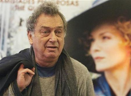 Stephen Frears is seen during a photocall to promote his latest film ''Cheri'' in Madrid January 12, 2010. REUTERS/Sergio Perez