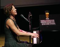 <p>Canadian singer Sarah McLachlan performs at the first Cinema Against AIDS Toronto gala, September 15, 2009. REUTERS/Mario Anzuoni</p>