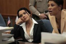 <p>La actriz Lindsay Lohan comparece en una corte de Beverly Hills, luego de no presentarse a una audiencia sobre su libertad condicional por un caso del 2007 en el que fue sentenciada por conducir ebria y bajo los efectos de cocaína. REUTERS/Jae C. Hong/Pool</p>