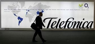 <p>La tension entre Portugal Telecom et Telefonica est montée mercredi alors que l'opérateur espagnol cherche toujours à s'emparer de Vivo, leur coentreprise brésilienne. /Photo d'archives/REUTERS/Albert Gea</p>