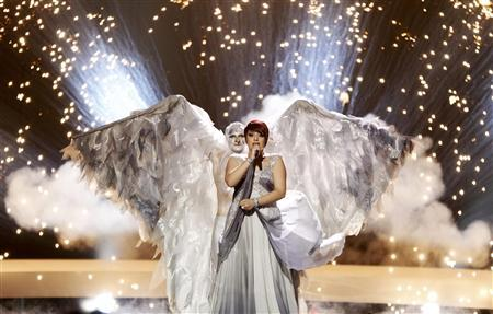 Thea Garrett from Malta performs her song ''My Dream'' during a dress rehearsal for semi-final one of the Eurovision Song Contest in Oslo May 24, 2010. REUTERS/Bob Strong