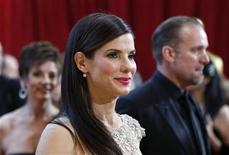 "<p>Sandra Bullock, best actress nominee for ""The Blind Side,"" arrives at the 82nd Academy Awards in Hollywood March 7, 2010. REUTERS/Lucas Jackson</p>"