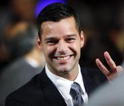 """<p>Ricky Martin chega ao Clinton Global Initiative em Nova York em setembro. O astro pop latino voltará à Broadway em 2012 para estrelar uma remontagem de """"Evita"""" ao lado da atriz argentina Elena Roger. 24/09/2009. REUTERS/Chip East</p>"""
