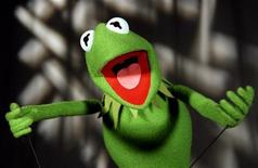 <p>Kermit the Frog is seen in this photograph taken September 26, 2005. REUTERS/Mike Segar</p>