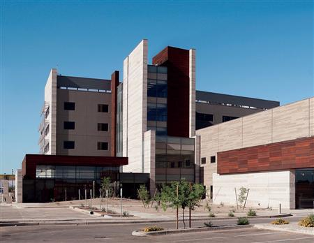 Banner Gateway Hospital, Gilbert, Arizona, is seen in this undated photo. The hospital's parent, Phoenix-based Banner Health, is one of the top 10 health systems in a new study conducted by Thomson Reuters. REUTERS/Banner Gateway Hospital