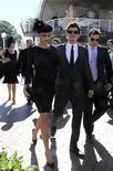 <p>Imagen de archivo del actor Orlando Bloom junto a su novia Miranda Kerr, en Sidney. Abr 16 2008. La supermodelo australiana Miranda Kerr se casará con el actor de Hollywood Orlando Bloom, dijo el martes el publicista de la pareja a los medios. REUTERS/Patrick Riviere /ARCHIVO</p>