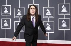 """<p>Singer Alfred """"Weird Al"""" Yankovic arrives at the 52nd annual Grammy Awards in Los Angeles January 31, 2010. REUTERS/Mario Anzuoni</p>"""