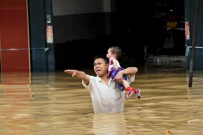 Deadly floods in China