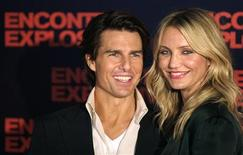 """<p>Tom Cruise e Cameron Diaz no lançamento do filme """"Encontro Explosivo"""" no Rio de Janeiro. 06/07/2010 REUTERS/Sergio Moraes</p>"""