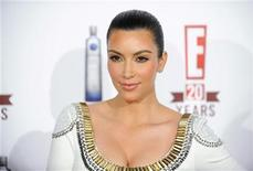 <p>Television personality Kim Kardashian arrives at the E! 20th Birthday Celebrating Two Decades of Pop Culture, in West Hollywood, California May 24, 2010. REUTERS/Gus Ruelas</p>