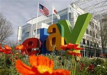 <p>Foto de archivo de la casa matriz de la compañía de subastas por internet eBay en San Jose, EEUU, feb 25 2010. XPRT Ventures LLC demandó a eBay Inc en al menos 3.800 millones de dólares al acusar a la firma de subastas online de infringir seis patentes para desarrollar sistemas de pagos por internet como PayPal. REUTERS/Robert Galbraith</p>
