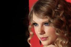 """<p>Taylor Swift em evento do """"100 Pessoas Mais Influentes do Mundo da Time"""". A cantora country-pop disse na terça-feira que seu terceiro trabalho será um álbum """"conceitual"""". 04/05/2010 REUTERS/Lucas Jackson</p>"""