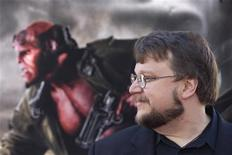 "<p>Director Guillermo del Toro poses for photographers during the premiere of the movie ""Hellboy II The Golden Army"" in Los Angeles, California, June 28, 2008. REUTERS/Hector Mata</p>"