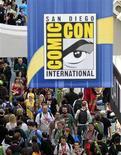 <p>Imagen de un grupo de asistentes a la convención de cómics de San Diego, EEUU, jul 22 2010. Hollywood se tomó el jueves el centro de San Diego en el inicio de los cuatro días de la gigantesca convención anual de cómics Comic Con. REUTERS/Mike Blake</p>