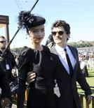 <p>Foto de archivo del actor Orlando Bloom y la modelo Miranda Kerr durante una actividad social en Sídney, abr 26 2010. Kerr, quien se crió en un pueblo de Australia, contrajo matrimonio con el actor de Hollywood Orlando Bloom, tan sólo un mes después de que la pareja anunciara su compromiso. REUTERS/Patrick Riviere</p>