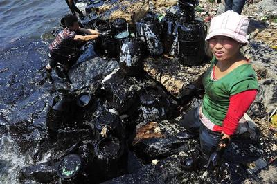 China's oil spill