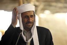 """<p>Президент Ирана Махмуд Ахмадинежад выступает у мечети в Тимбукту, Мали, 7 июля 2010 года. В понедельник, 26 июля он сказал государственному телеканалу Press TV, что США в ближайшие три месяца нанесут военный удар """"как минимум по двум странам"""" на Ближнем Востоке. (REUTERS/Hamed Jafarnejad/Fars News)</p>"""