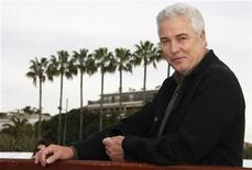 <p>U.S. Executive Producer and actor William Petersen, who stars in CSI, Crime Scene Investigation, poses during the yearly MIPTV, the International Television Programs Market, in Cannes, southeastern France, March 31, 2009. REUTERS/Eric Gaillard</p>