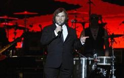 <p>Actor Jack Black hosts the 2010 MusiCares Person of the Year tribute honoring recording artist Neil Young in Los Angeles January 29, 2010. REUTERS/Mario Anzuoni</p>