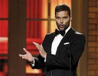 <p>Ricky Martin introduces a segment at the American Theatre Wing's 64th annual Tony Awards ceremony in New York, June 13, 2010. REUTERS/Gary Hershorn</p>