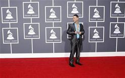 "<p>Mike ""The Situation"" Sorrentino from the television show ""The Jersey Shore"" arrives at the 52nd annual Grammy Awards in Los Angeles in this January 31, 2010 file photo. REUTERS/Mario Anzuoni</p>"