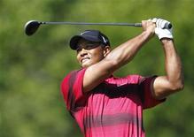 <p>Tiger Woods durante o Campeonato PGA de Golfe em Whistling Straits, Wisconsin. Woods e sua esposa Elin Nordegren se separaram, segundo divulgação na segunda-feira. 15/08/2010 REUTERS/Mathieu Belanger</p>