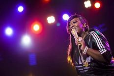<p>Missy Elliott performs onstage during the 44th Montreux Jazz Festival in Montreux July 5, 2010. REUTERS/Valentin Flauraud</p>