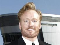 <p>Late night talk show host Conan O'Brien poses at the 62nd annual Primetime Emmy Awards in Los Angeles, California August 29, 2010. REUTERS/Mario Anzuoni</p>