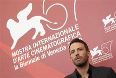 "<p>Director Ben Affleck poses during a photocall for the movie ""The town"" at the 67th Venice Film Festival September 8, 2010. REUTERS/Tony Gentile</p>"